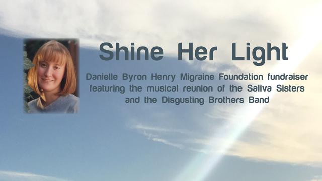 Danielle Byron Henry Migraine Foundation June 2016 Fundraiser