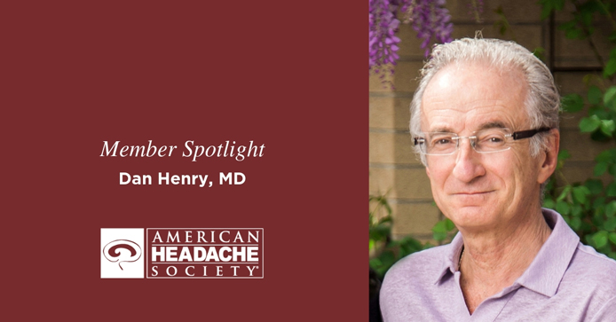 AHS Recognition of Dr. Henry, American Headache Foundation - recognition of Dr. Henry
