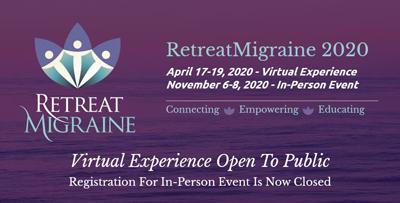 Retreat Migraine 2020