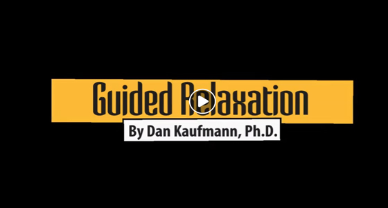 Guided Relaxation Video, Dan Kaufmann