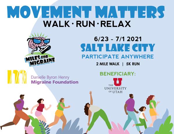 Miles for Migraine 2021 Event